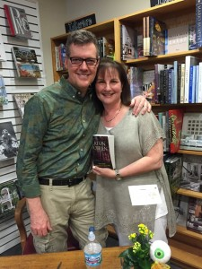 Kevin OBrien and me at Bookstall 8-6-2015