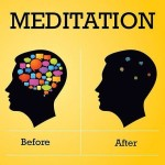 meditation before and after